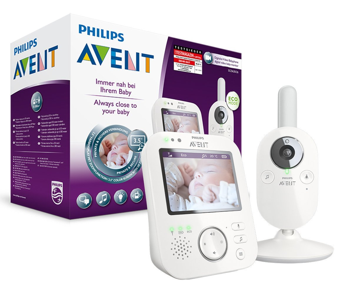 Philips Avent SCD630/26 Video-Babyphone