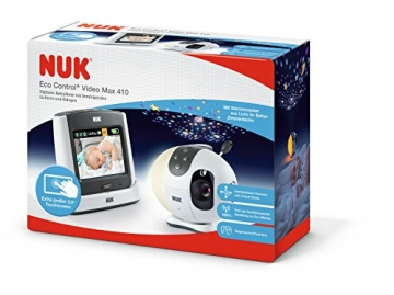 NUK Eco Control+ Video Max 410 Babyphone