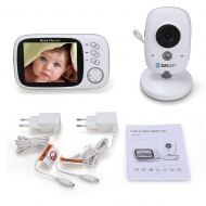 SUNLUXY 3,2 Zoll Farb Wireless Baby Monitor Babyphone